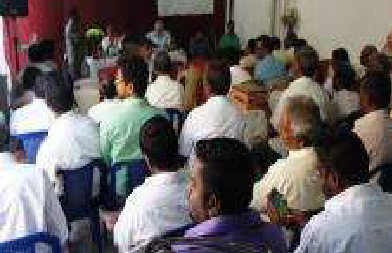Over 50 Indian pastors from Chennai came to attend the first of the Indian leadership training seminars being held by Rev. Jan L. Beaderstadt. The focus of the seminars was on Qualities of Leadership.
